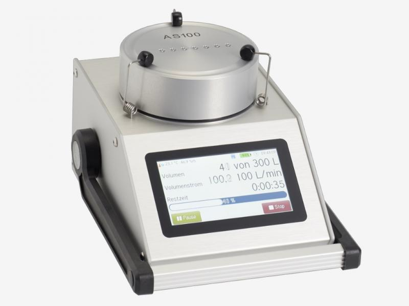 Allergen sampling head on MBASS30