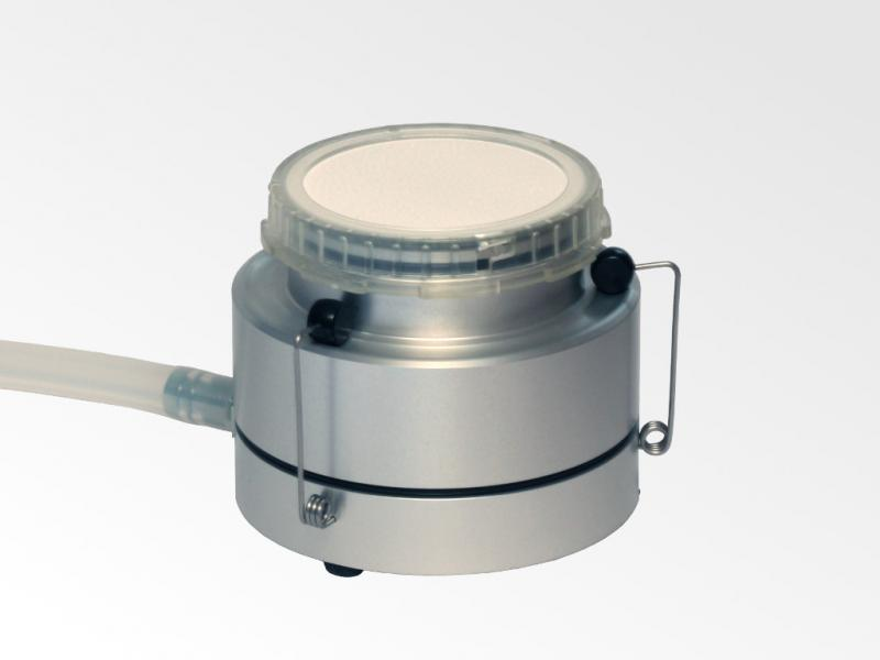 Filter adapter on separate base unit with gelatine filter